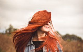 red hair shades