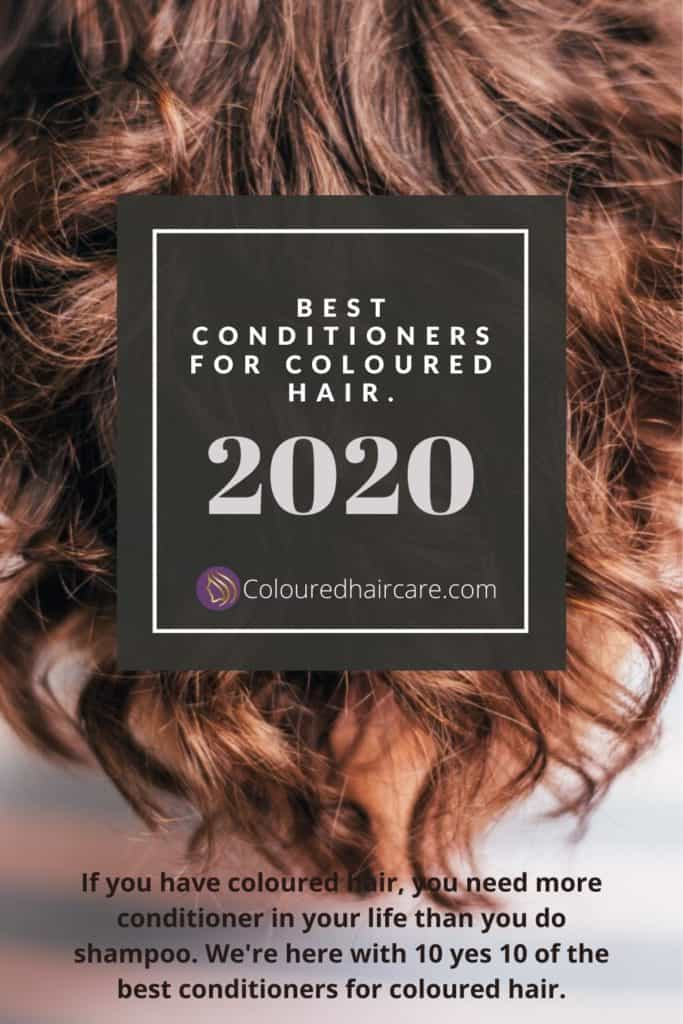 BEST CONDITIONERS FOR COLOURED HAIR.