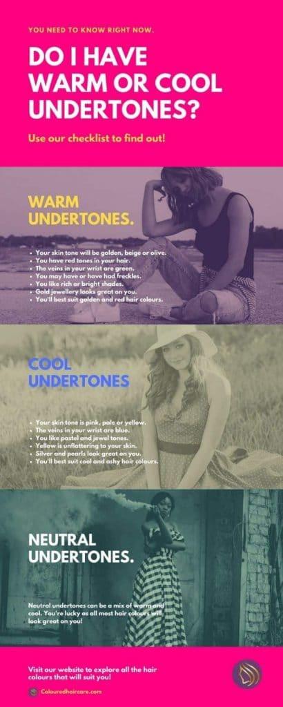 warm or cool undertones
