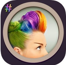 best hair colour changing apps