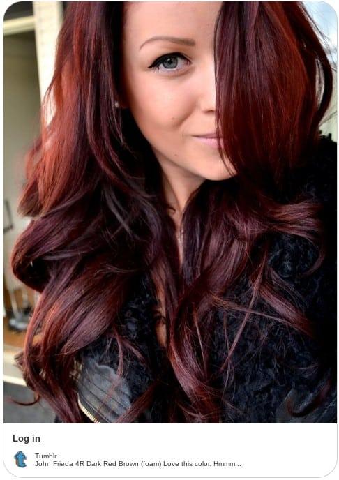 John Frieda hair dye instagram
