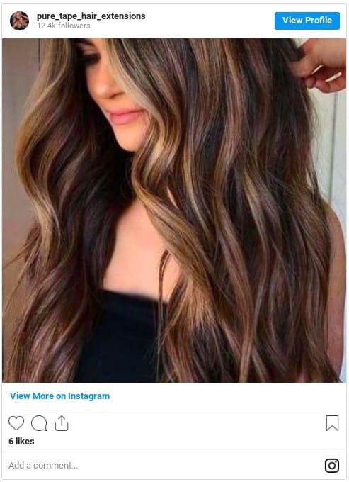 light brown hair shades caramel brown