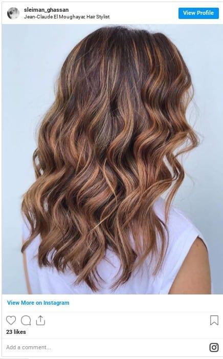 light brown hair shades