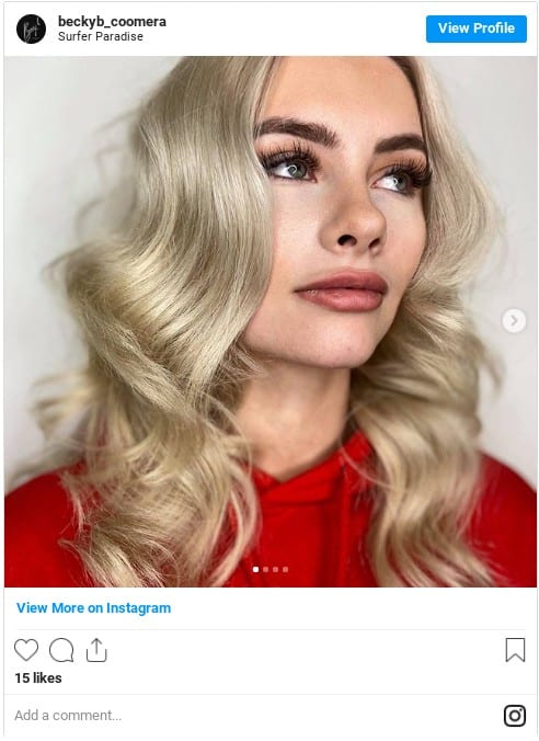 ash blonde highlights instagram