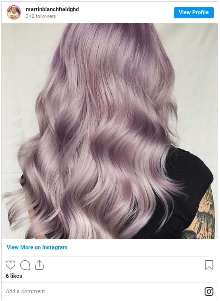 how to dye your hair purple at home insta1