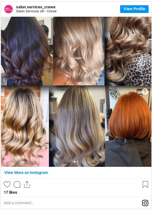 permanent hair color ideas instagram