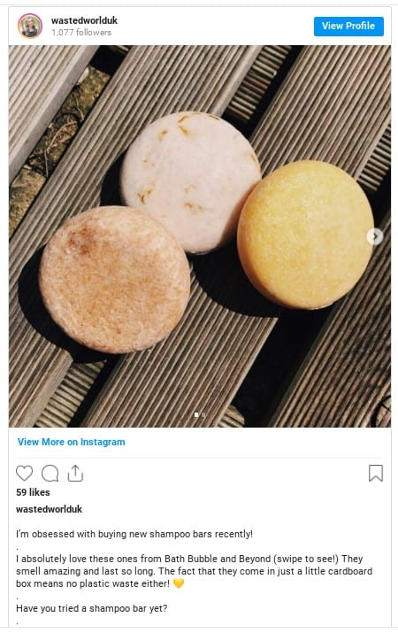 shine on shampoo bar instagram
