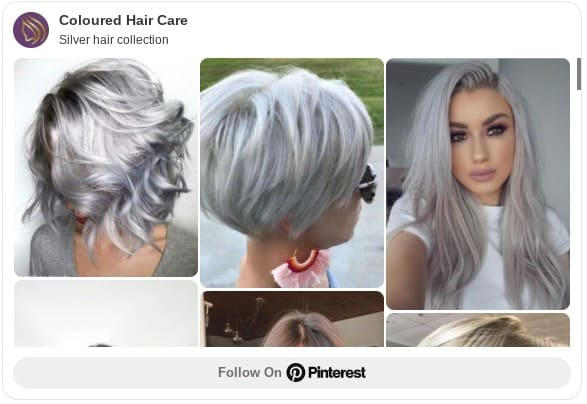 silver hair color ideas pinterest board