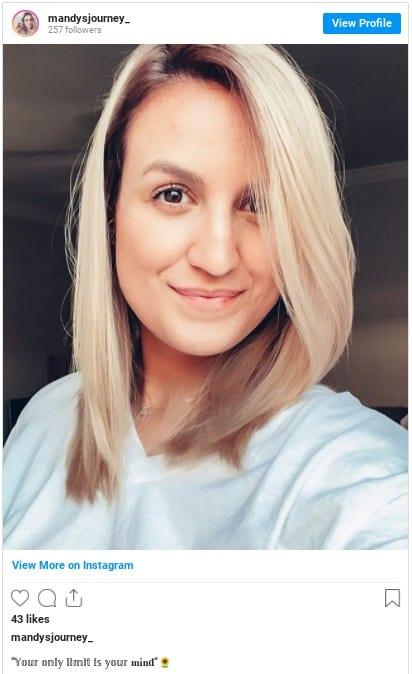bleached blonde hair instagram