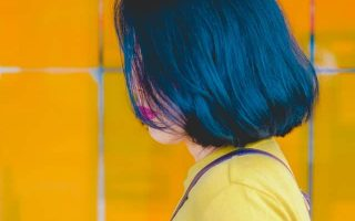 best blue black hair dye