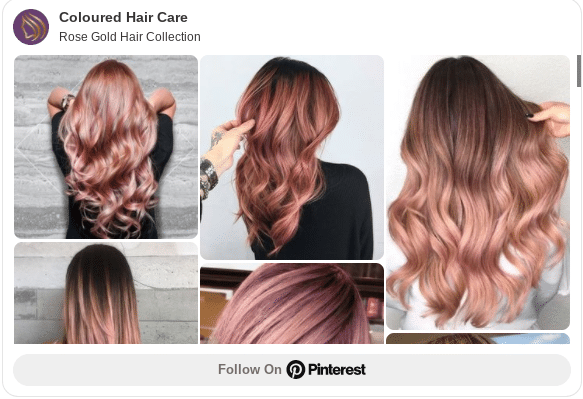 best rose gold hair color ideas