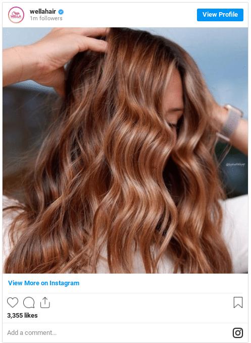 caramel hair