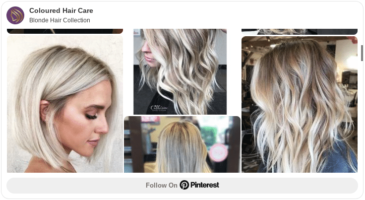 blonde hair collection pinterest board