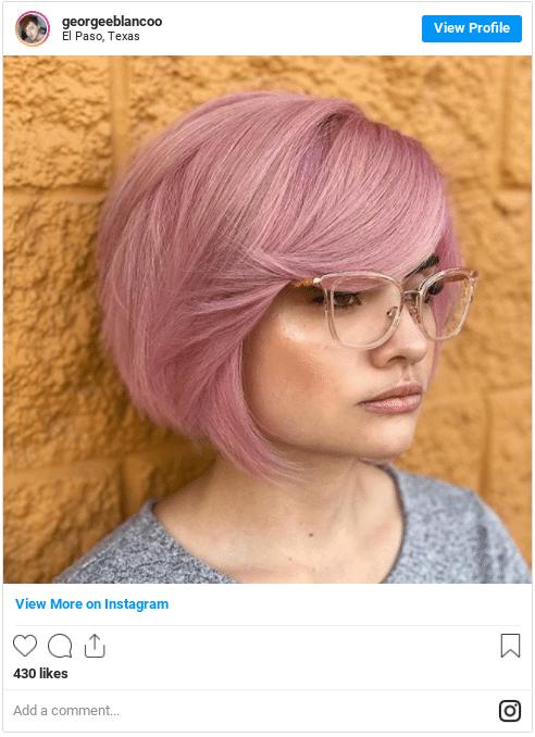 permanent hair dye instagram