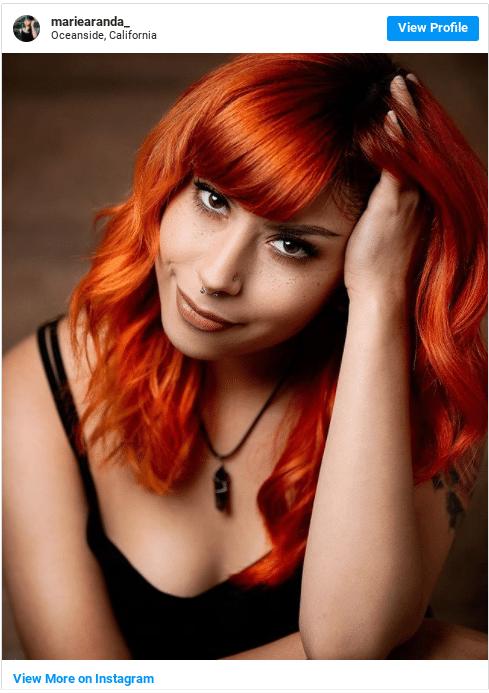 semi permanent hair dye instagram