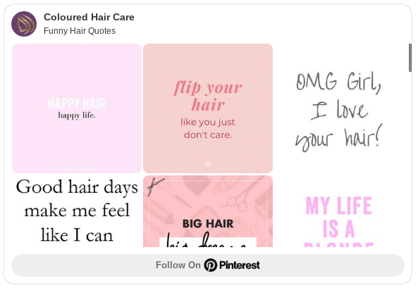 pinterest board for hair quotes and barber quotes