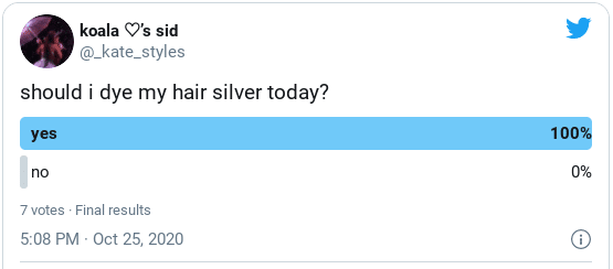 How to dye your hair silver at home twitter
