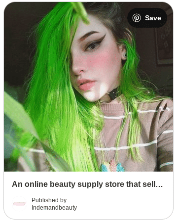green apple box dye pin