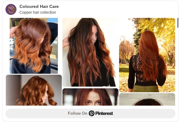 copper red hair color ideas