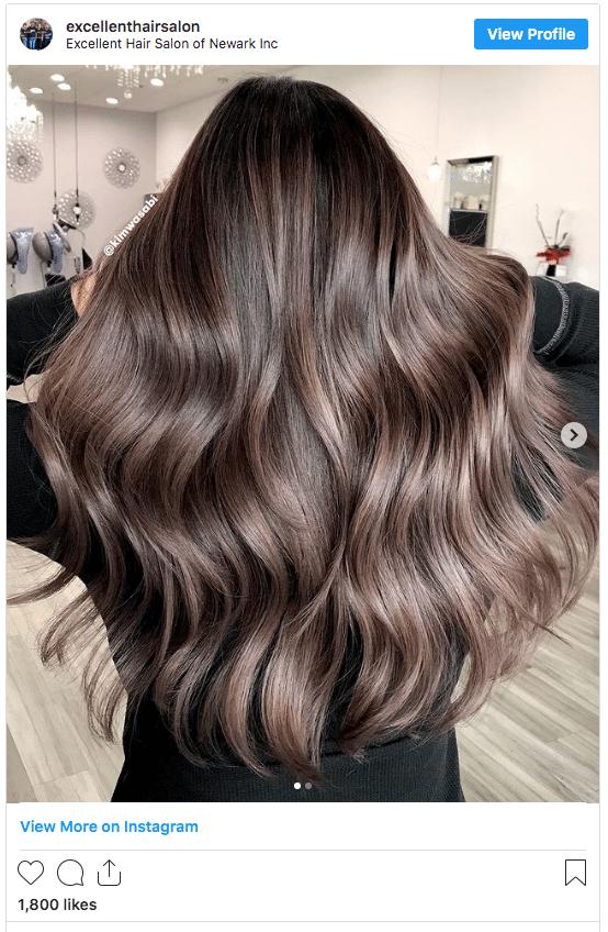 mushroom brown hair color