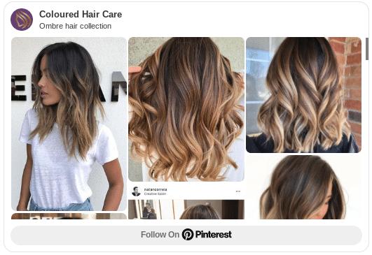 ombre hair colour ideas pinterest