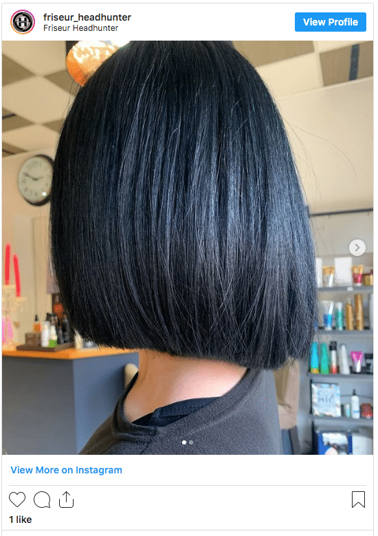 black hair without bleach instagram