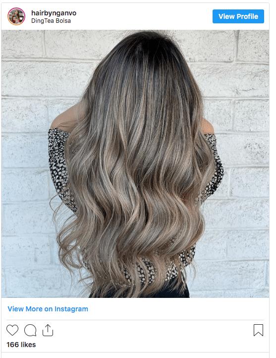 ash brown hair colour ideas instagram post