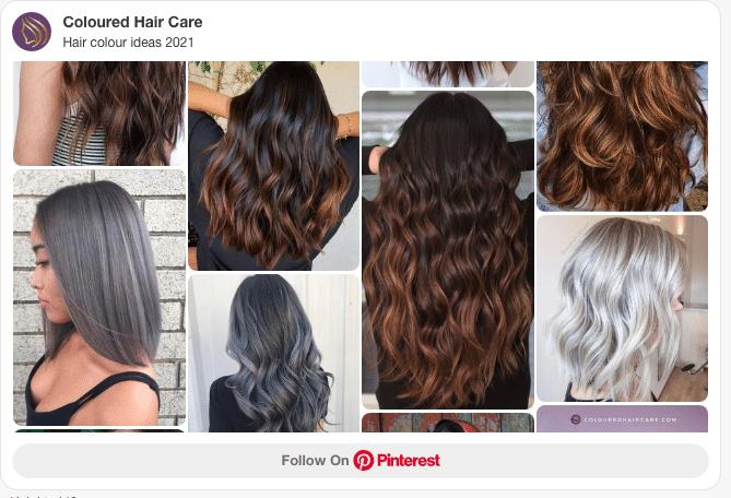 hair colour ideas 2021 pinterest board