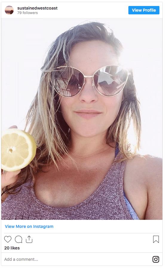 How to naturally lighten your hair - lemon juice instagram