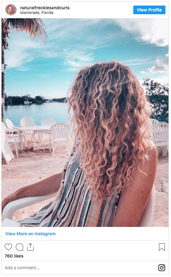 salt water hair color instagram