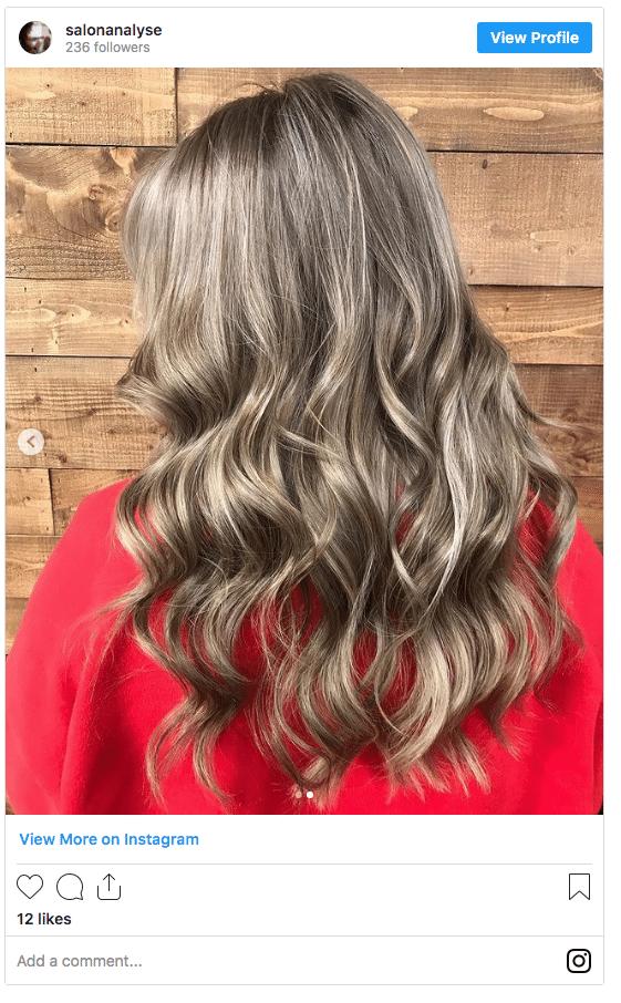 dirty blonde hair color instagram