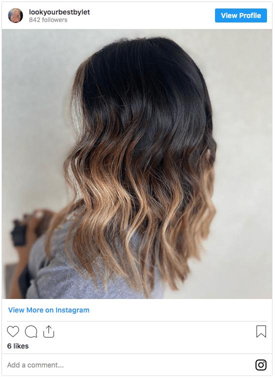 blonde hair with dark roots instagram 1