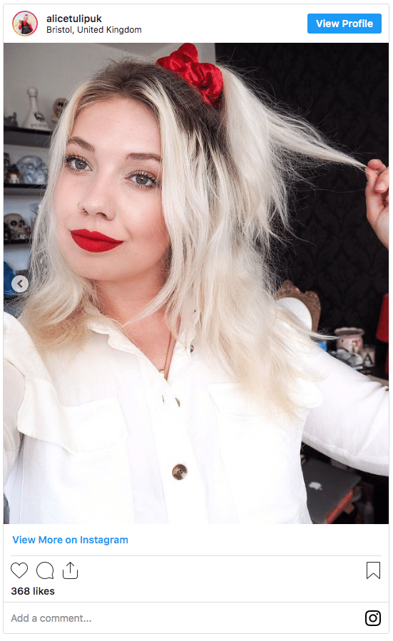 white blonde hair with dark roots 2