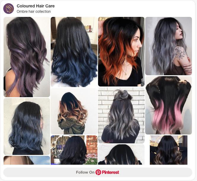 best hair dye for dark hair Pinterest board