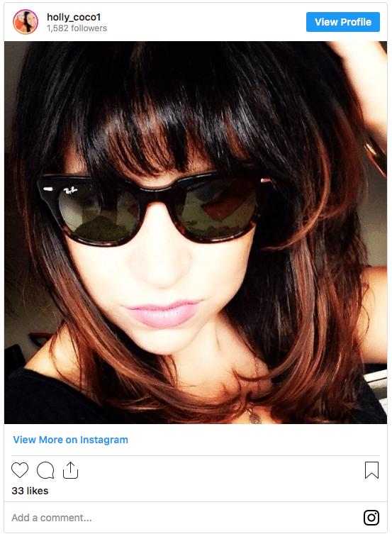 black ombre hair red hair instagram post 3