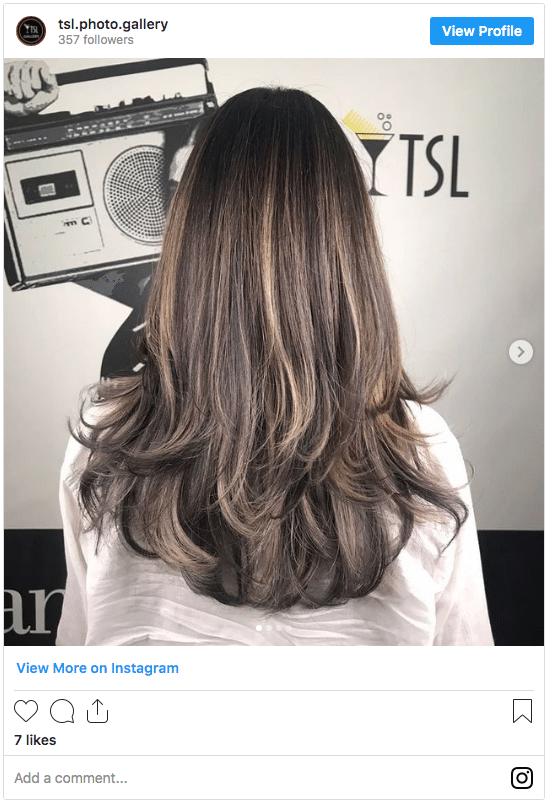 what does toner do to hair instgram post brunette