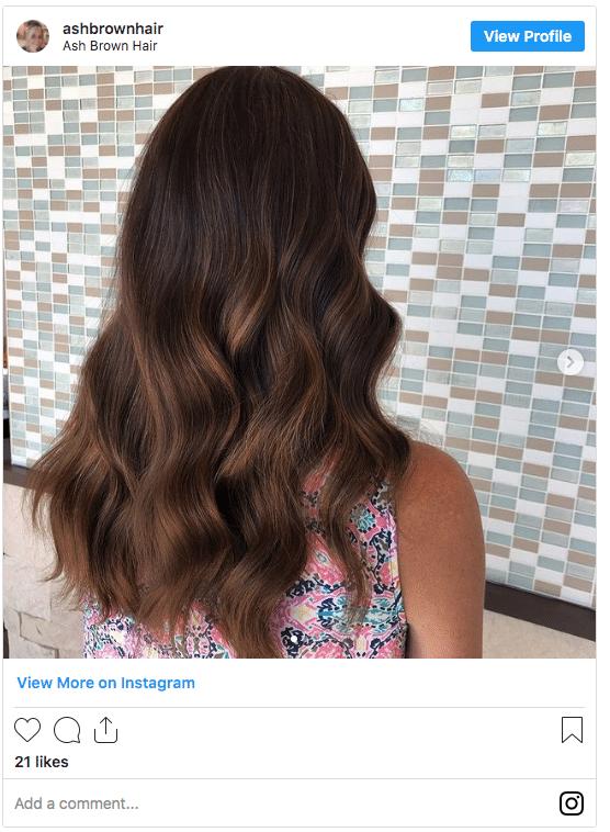 can you dye wet hair ash brown hair dye instagram