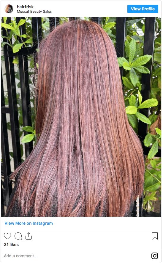 can you dye wet hair red hair instagram