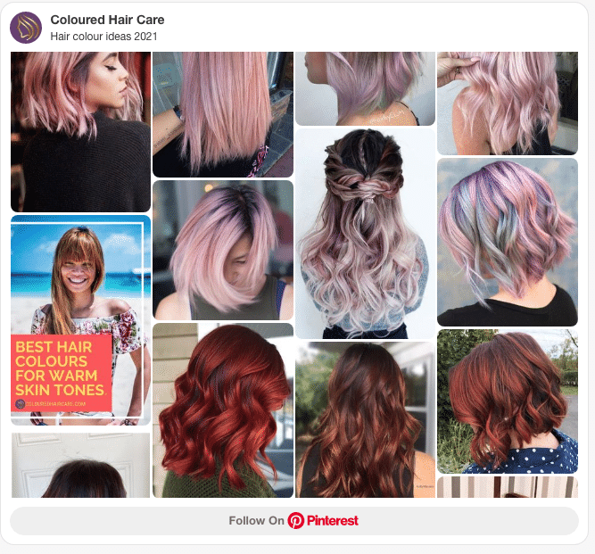 which hair color suits me pinterest board