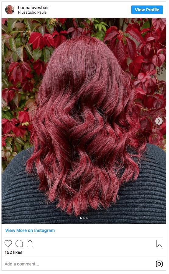autumn hair color reds